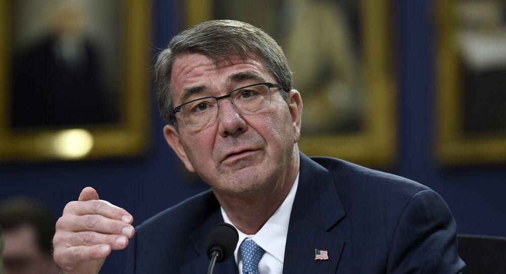 وزير الدفاع الأمريكي إشتون كارتر