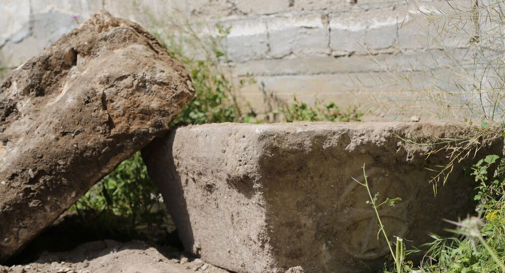 اكتشاف آثار لكنيسة بيزنطية في قطاع غزة