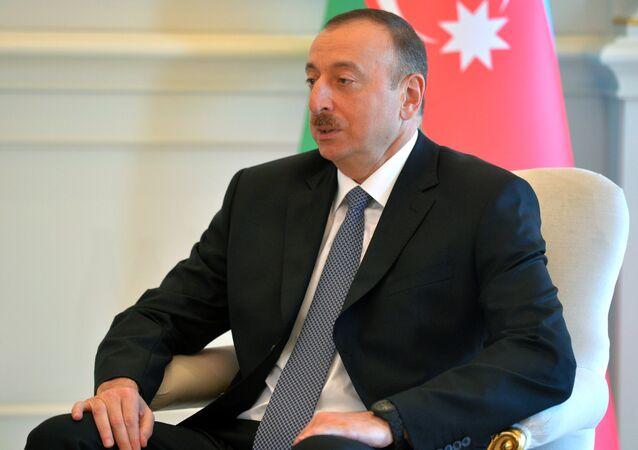 إلهام علييف الرئيس الأذربيجاني