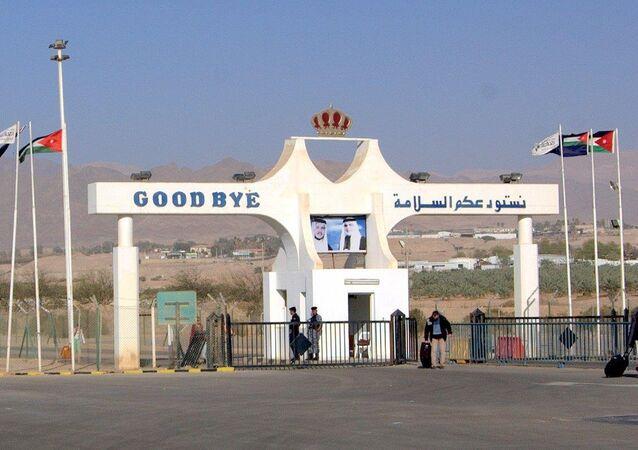 الحدود الأردنية