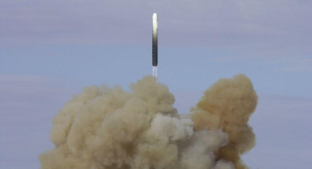إطلاق صاروخ نووي روسي