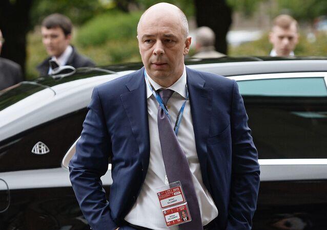 وزير المالية الروسي انتون سلوانوف