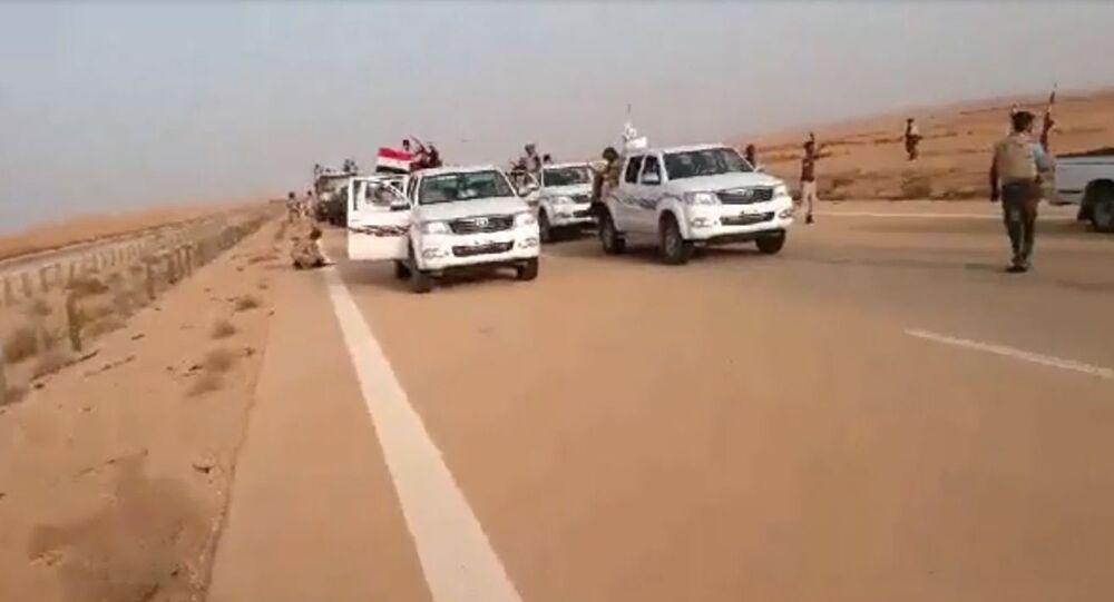 دحر الداوعش قرب الحدود الأردنية العراقية