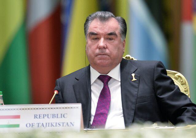 الرئيس الطاجيكي إمام علي رخمن