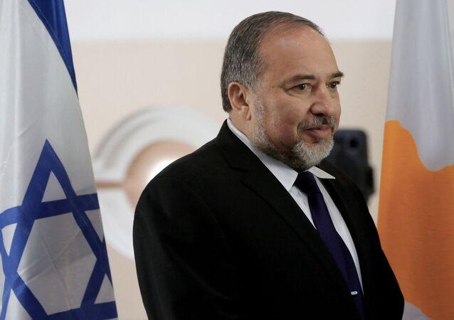 وزير الدفاع الإسرائيلي ليبرمان