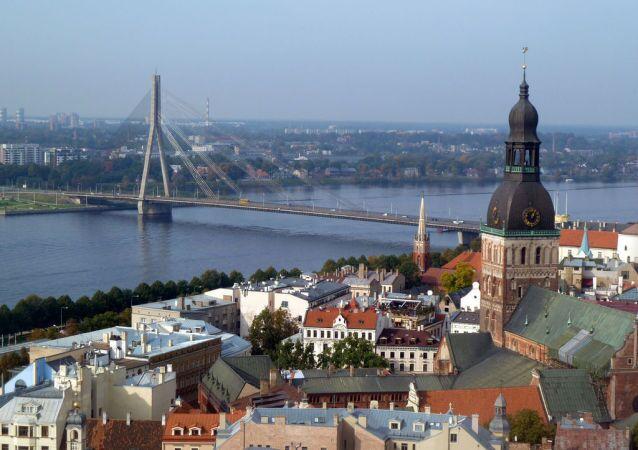 ريغا عاصمة لاتفيا
