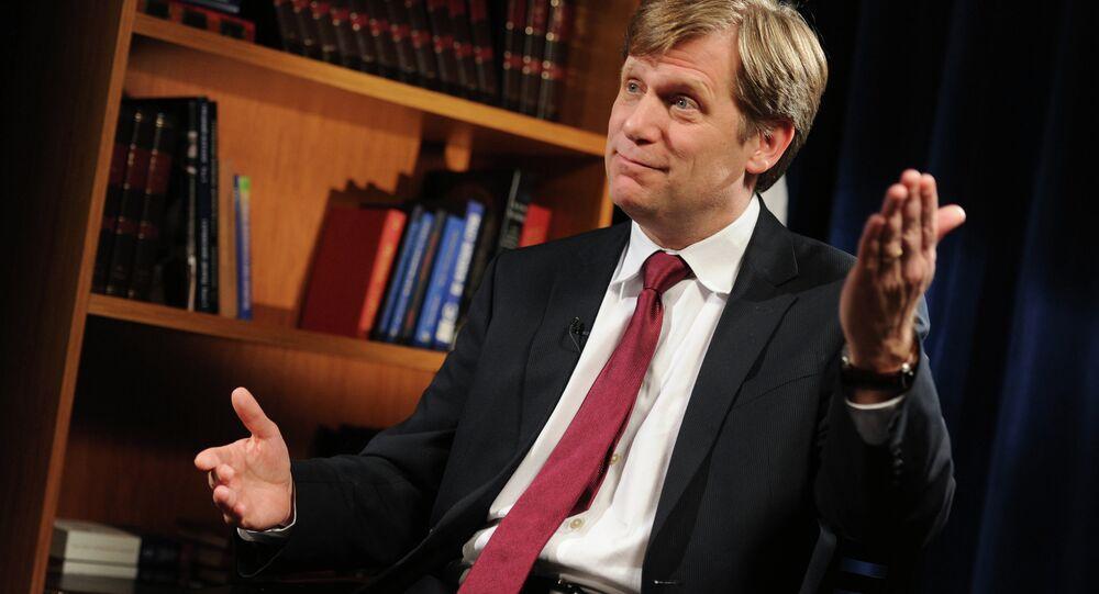 سفير الولايات المتحدة السابق لدى روسيا مايكل ماكفول