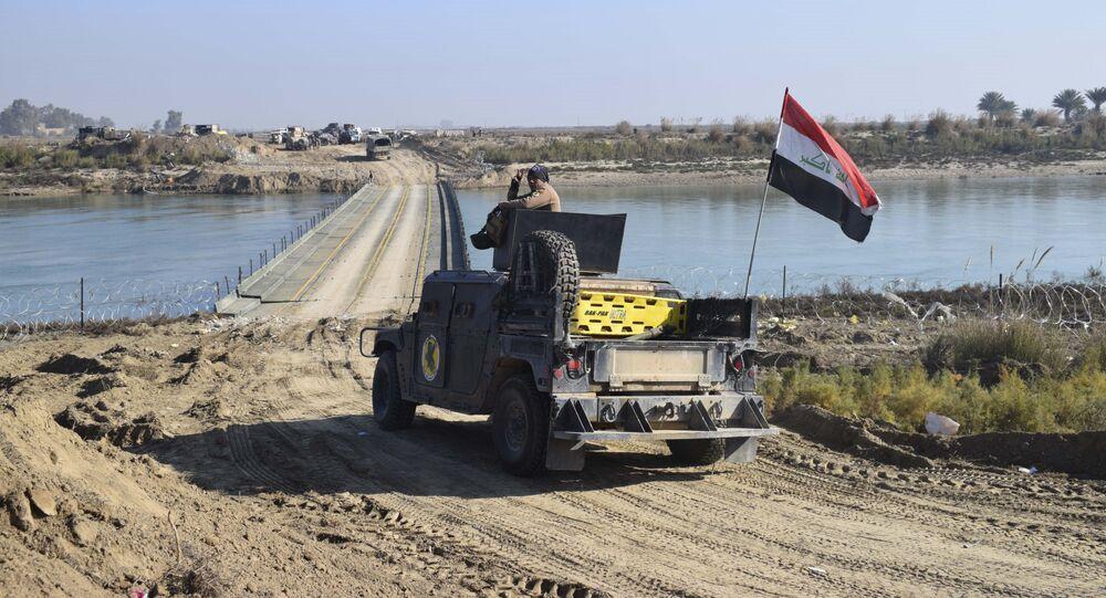 نهر الفرات، العراق