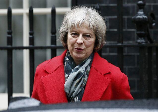 وزيرة الداخلية البريطانية تيريزا ماي