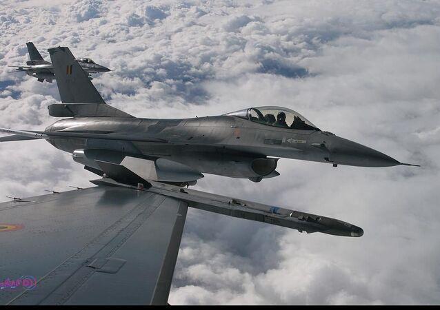 مقاتلة اف-16 مصرية