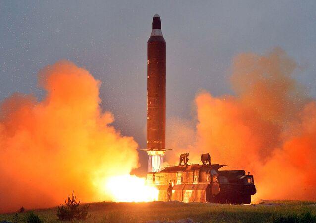 تجربة صاروخية لكوريا الشمالية