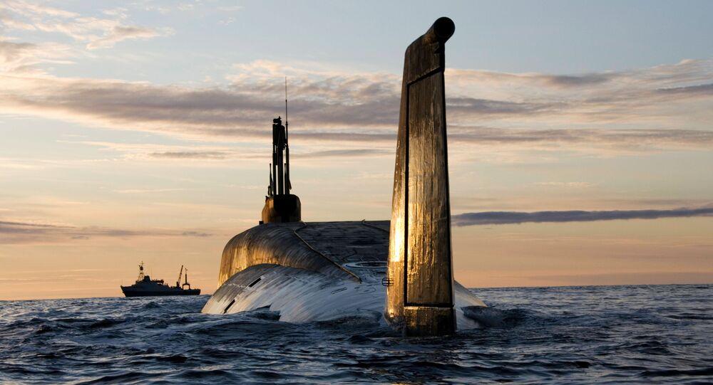 غواصة نووية روسية يورى دولغوروكي