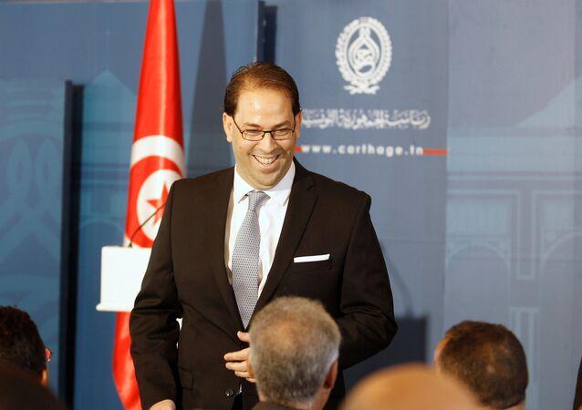 رئيس الوزراء التونسي يوسف الشاهد