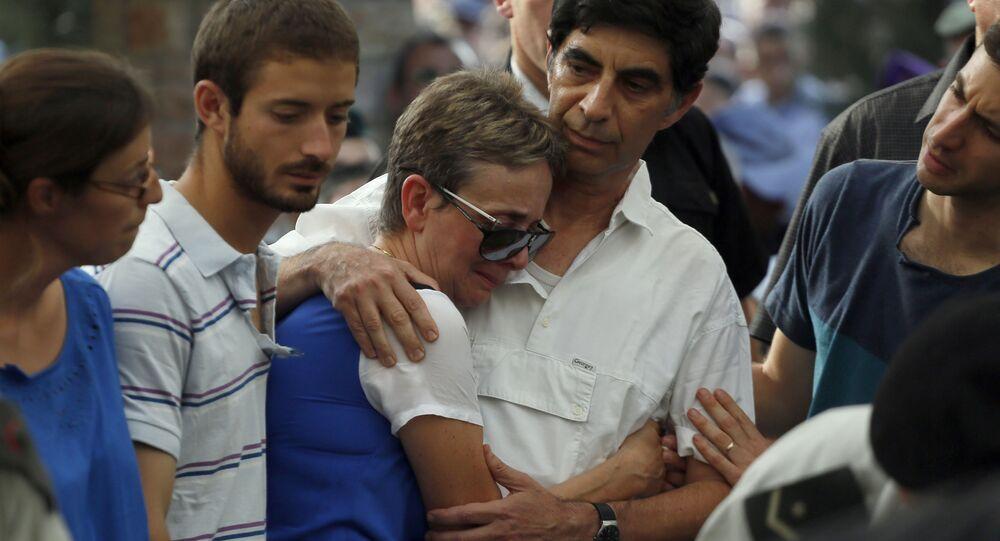 عائلة الجندي المفقود هدار غولدن في قطاع غزة