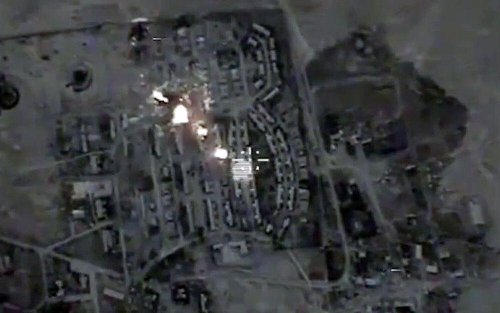 ضرب معاقل تنظيم داعش الإرهابي فى سوريا
