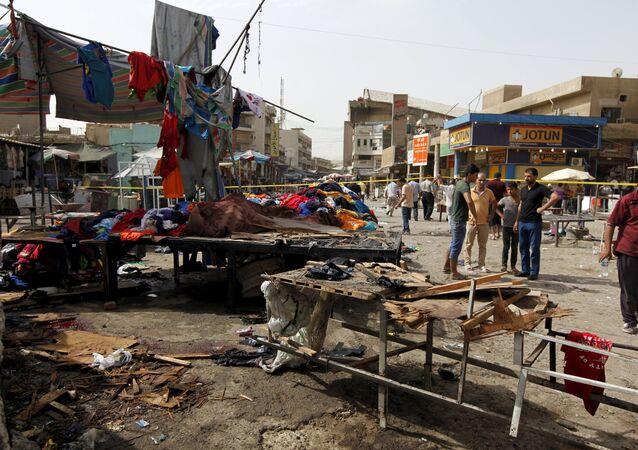 انفجار في بغداد