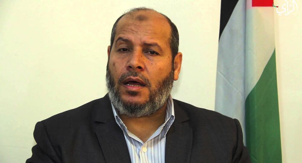 عضو المكتب السياسي لحركة حماس خليل الحية