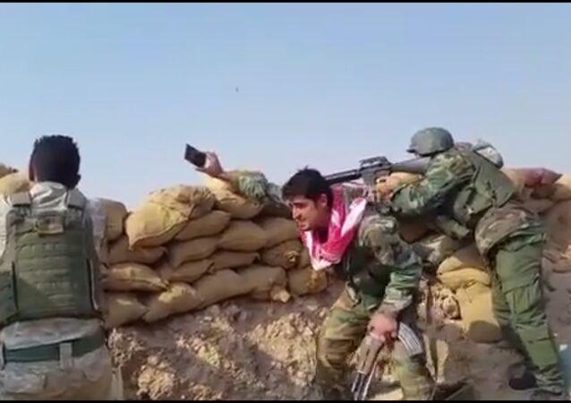 الجيش العراقي يصد هجوم تنظيم داعش على قضاء سنجار
