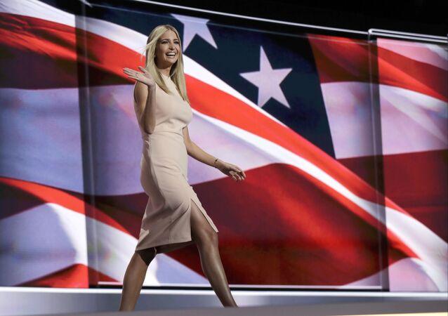 إيفانكا ترامب — نجمة الرئيس الأمريكي الجديد