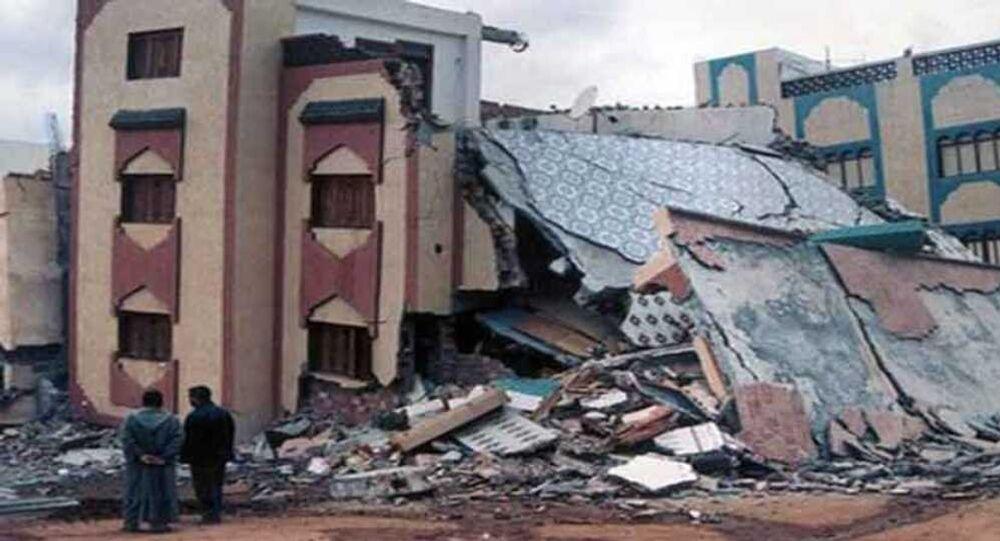 زلزال الجزائر