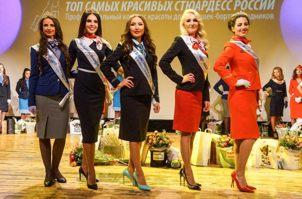 مسابقة أجمل مضيفة طيران في روسيا - النهائيات
