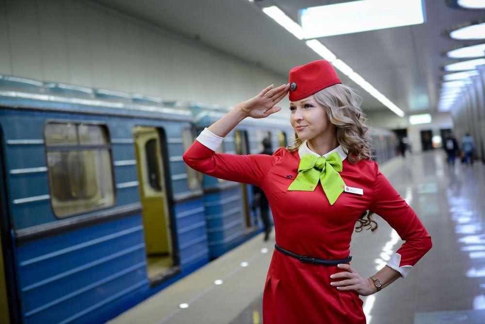 مسابقة أجمل مضيفة طيران في روسيا - مشاركة في المسابقة أليسيا كوزينا