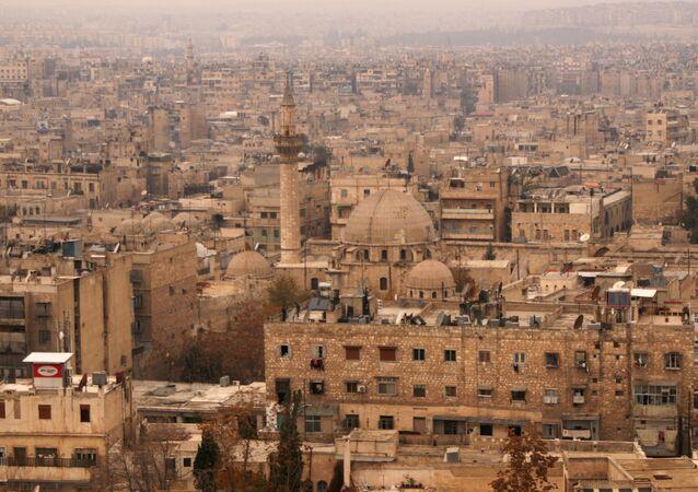 وسط حلب عام 2009