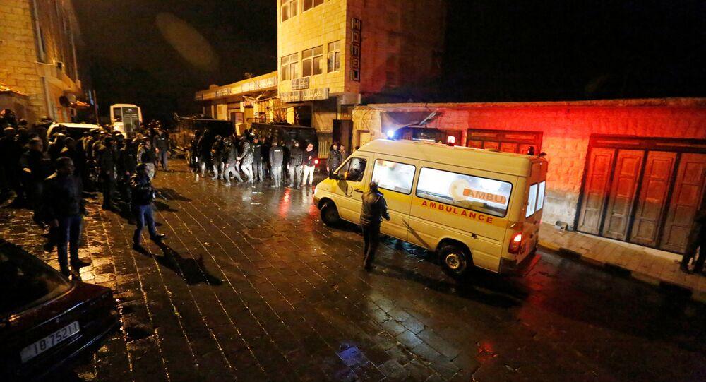 الشرطة الأردنية في الكرك