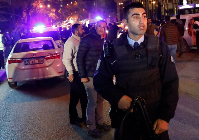 الأمن التركي في أنقرة (أرشيفية)