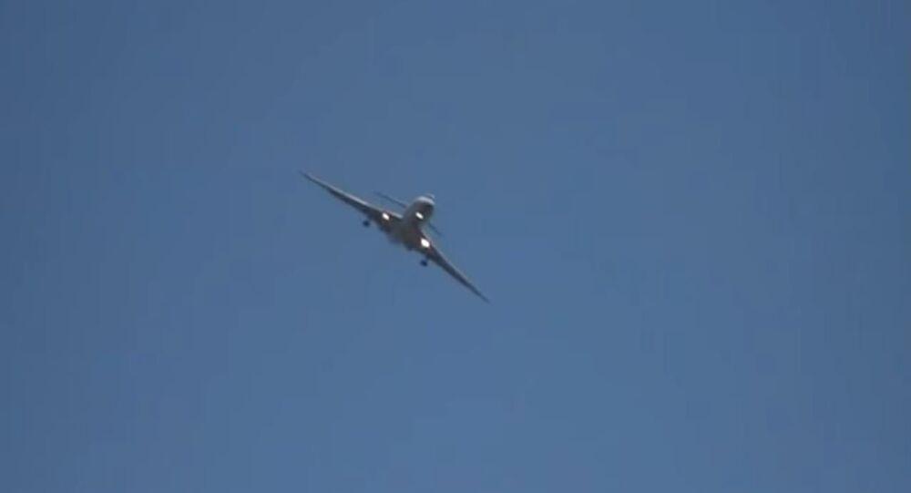 طائرة ركاب روسية