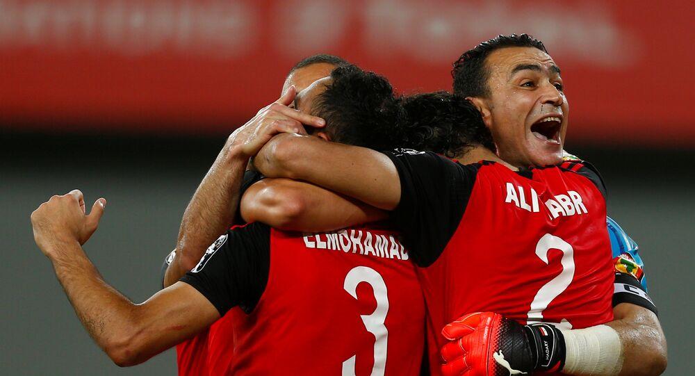 فوز منتخب مصر