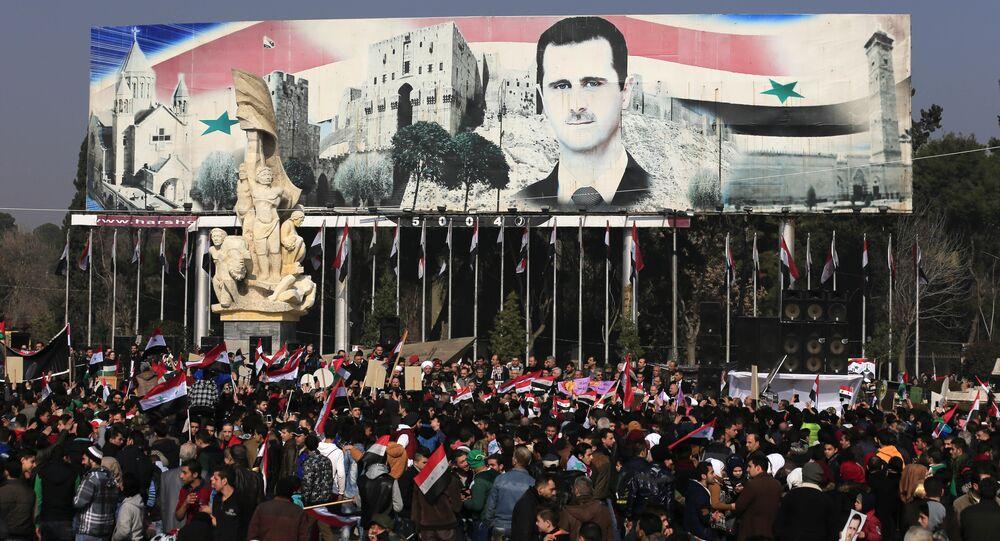 رئيس الجمهورية العربية السورية بشار الأسد