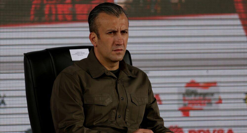 طارق العيسمي نائب الرئيس الفنزويلي
