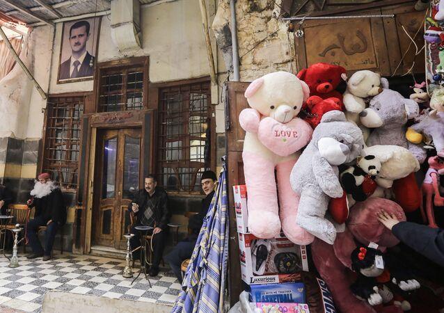 يوم الفالنتاين في دمشق، سوريا
