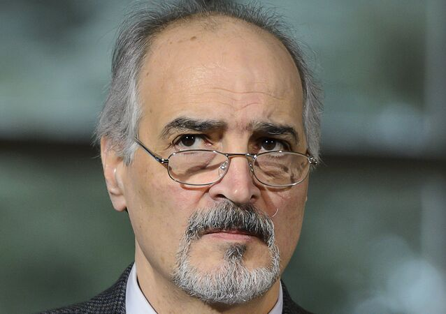 المندوب السوري لدى الأمم المتحدة بشار الجعفري