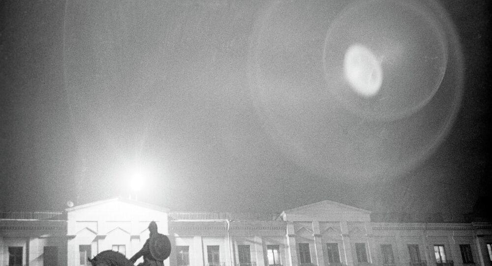 جرم سماوي مجهول فوق موسكو