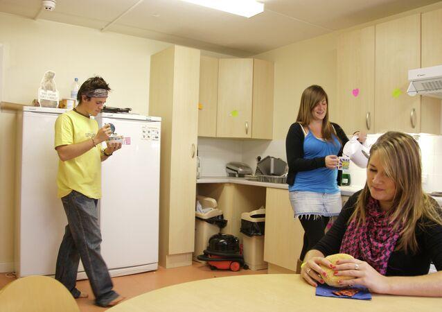 University kitchen