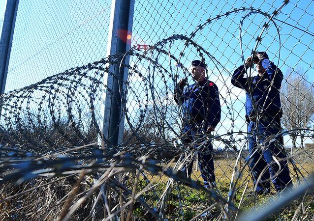 حرس الحدود بين بلغاريا وكرواتيا