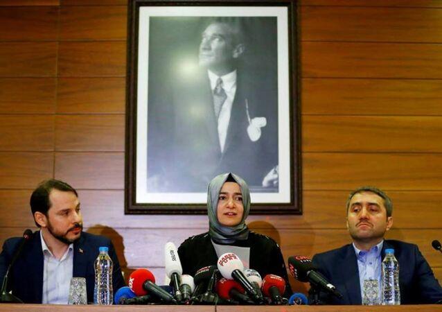 وزيرة الأسرة التركية صايان كايا