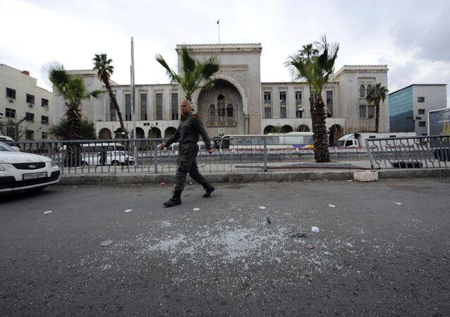 تفجير إرهابي بالعاصمة السورية دمشق