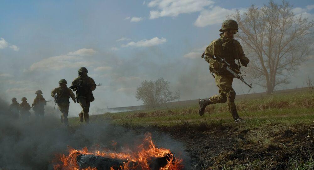قوات خاصة روسية