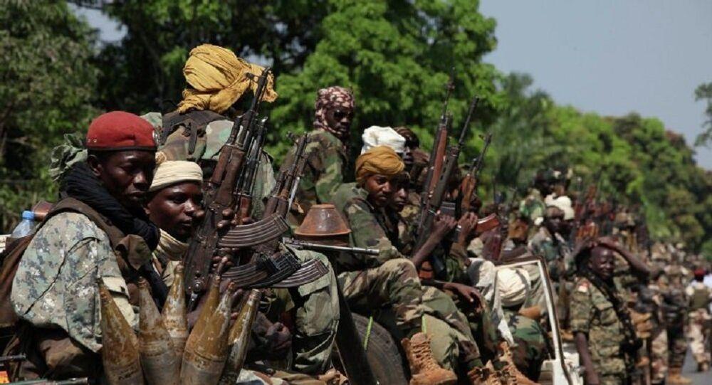 مقاتلين في أفريقيا الوسطى
