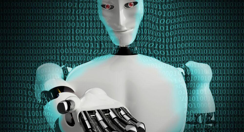روبوت ذكاء اصطناعي