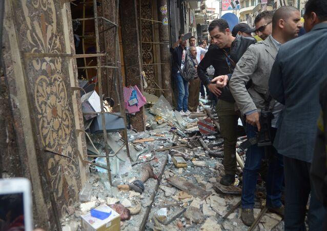 التفجير الانتحاري في الكنسية المرقسية في الإسكندرية