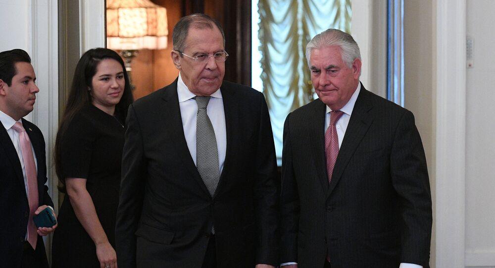 مباحثات لافروف وتيليرسون في موسكو