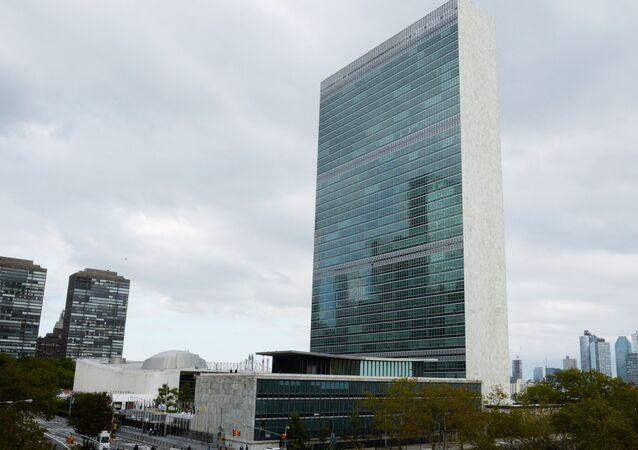 مقر الأمم المتحدة في مدينة نيويورك، الولايات المتحدة