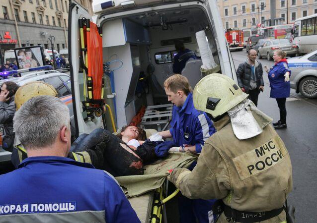 انفجار بطرسبورغ