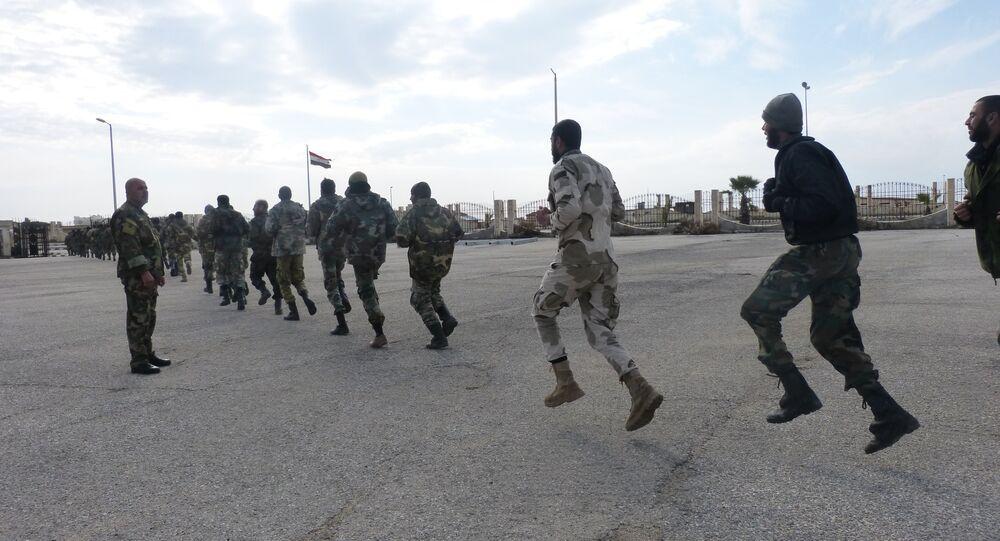 هكذا يتعامل الجيش السوري مع مواقع المسلحين داخل الأبنية