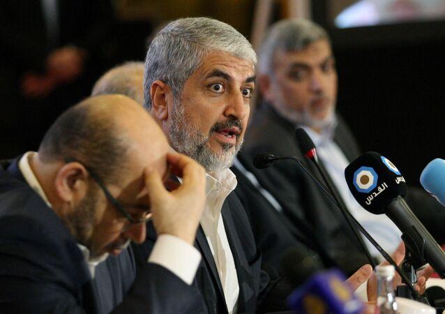 مشعل في مؤتمر حماس