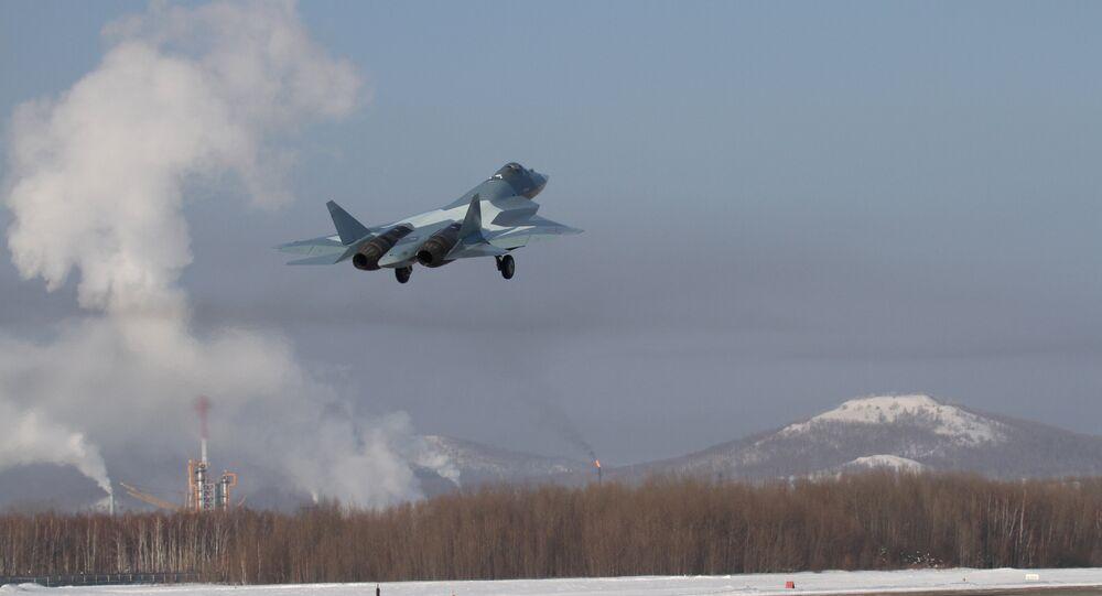 طائرة جديدة من إنتاج شركة سوخوي